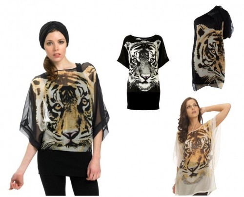 Oblečenie so zvieracími motívmi  Prebuďte v sebe zviera — Módne Trendy b6968e6fae2