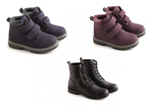 detské členkové topánky na suchý zips 11 € a čierne dievčenské topánky na  šnurovanie za 14 328afe9e403